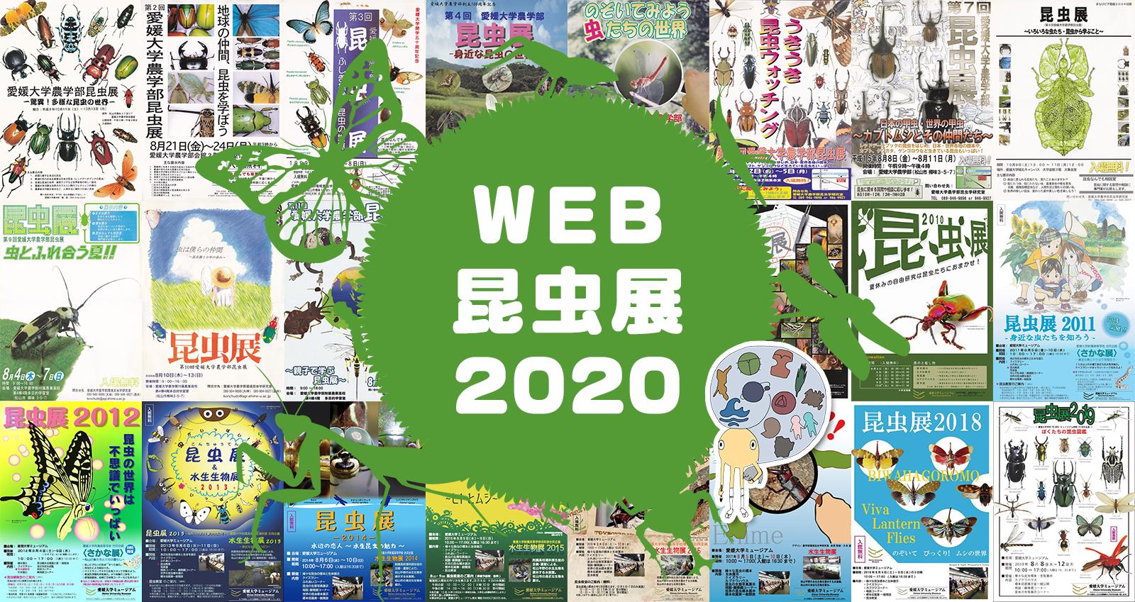 web昆虫展2020